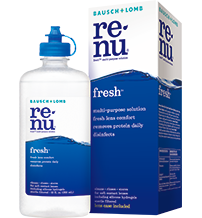 Cleaning Soft Contact Lenses - renu fresh Multi-Purpose Solution   Bausch +  Lomb 11c72753a2